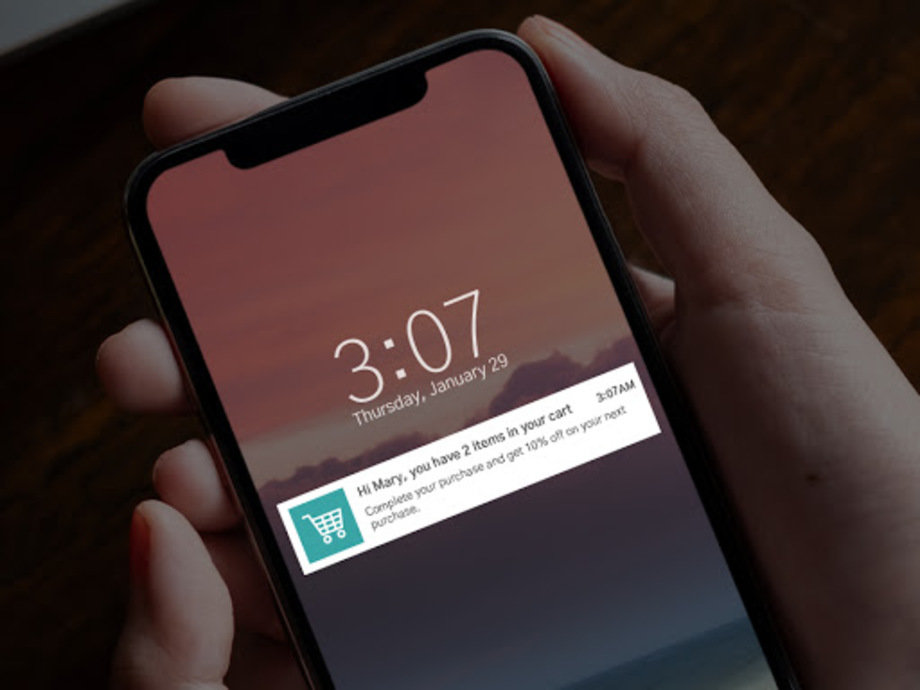 ecommerce notifications