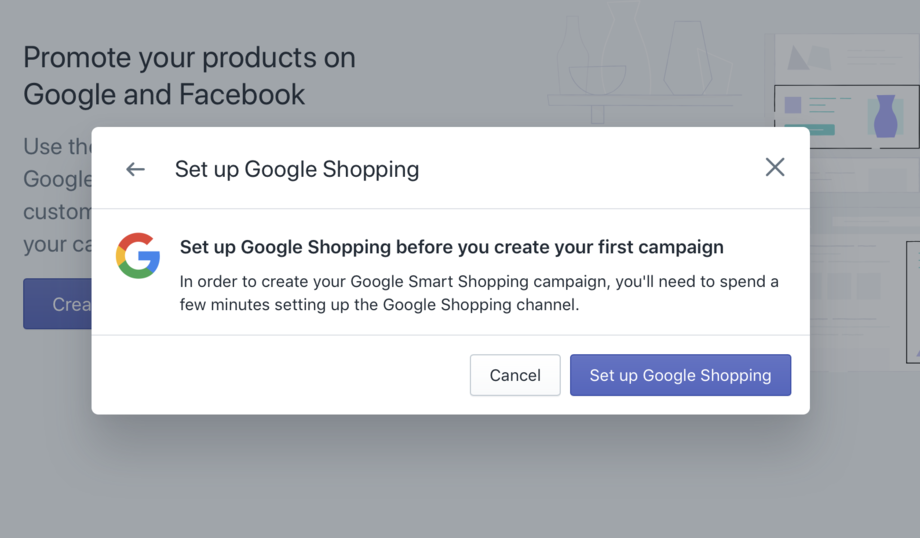 Shopify Setup Google Shopping